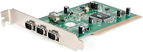 StarTech.com 4-Port PCI 1394a FireWire Adapter Card with Digital Video Editing Kit (PCI1394_4)