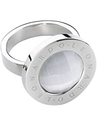 Leonardo Jewels Damen-Ring Matrix Edelstahl Glas