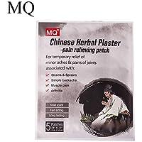 MQFORU 10 Stück 2 Beutel Chinesische Kräuterschmerzen Schmerzlinderung Schwarz Pflaster Rücken Muskeln Schmerzen... preisvergleich bei billige-tabletten.eu