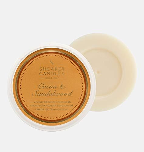 Shearer Candles Duftwachs-Melt, Duft & ätherische Öle, Ombre, Gold, Weiß, Einheitsgröße -