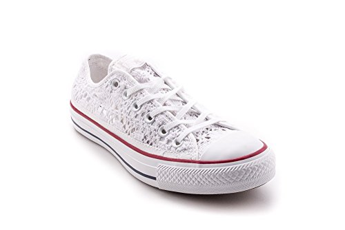 Converse 549314c, Chuck Taylor Speciality Ox mixte adulte Bianco