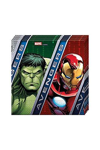 Avengers - Servilletas de papel, 2capas,...