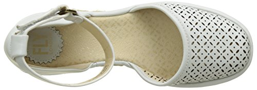 Fly London Etic970fly, Sandali Donna Bianco (offwhite 002)