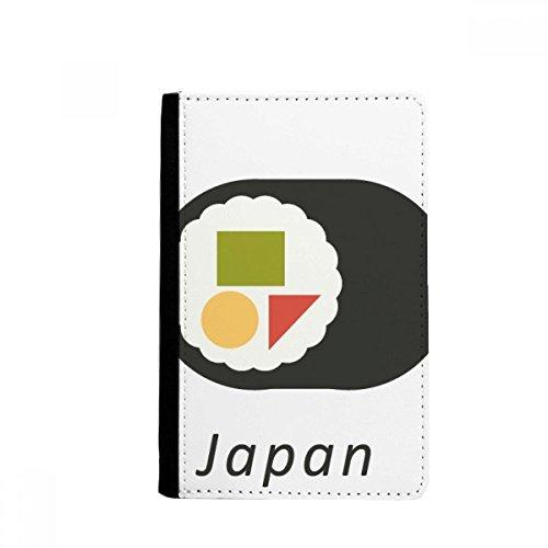 Beatchong tradizionale giapponese locale maki sushi supporto del passaporto di viaggio della borsa del raccoglitore della carta della copertura della cassa