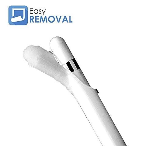 Apple Bleistift Fall Haut für iPad Pro–Grip Sleeve Tasche kompatibel mit iPad, Bezogenes plastikradiergummi Pro 9,7& 12,9–Stylus Stift Touch Pen Fall Halterung für Ihr Apple iPad Pro Bleistift