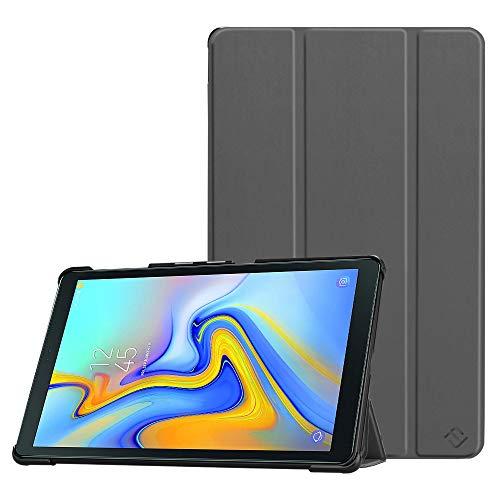 Fintie Samsung Galaxy Tab A 10.5 2018 Hülle - Ultra Schlank Superleicht Schutzhülle Cover Case mit Auto Schlaf/Wach Funktion für Samsung SM-T590/T595 Galaxy Tab A 10.5 Zoll Tablet-PC, Himmelgrau
