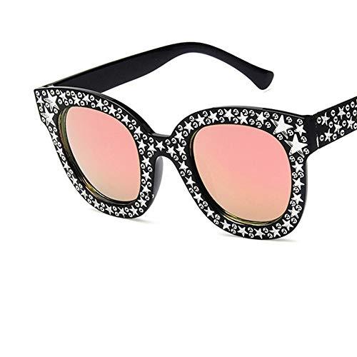 LAMAMAG Sonnenbrille Stars Dot Cat Eye Sonnenbrillen Frauen Sonnenbrillen Weibliche Brillen Oculos De Sol Feminino Lünette Soleil, 8