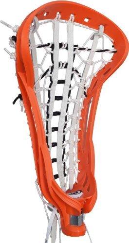 debeer-lacrosse-spire-head-strung-gripper-with-pro-s-pocket-orange-by-debeer