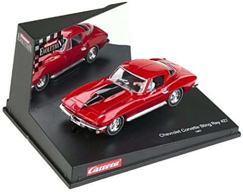 Carrera 25429 Chevrolet Corvette Sting Ray 427 1967 1:32nd Scale