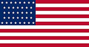 magFlags Flagge: Large United States 1867-1877 | Querformat Fahne | 1.35m² » Fahne 100% Made in Germany
