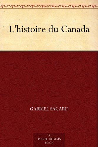 Couverture du livre L'histoire du Canada