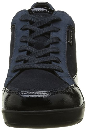 Stonefly Damen Ebony 4 Sneakers Blau (Blue-Navy 100)