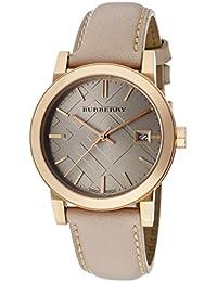 Burberry BU9109 - Reloj de pulsera mujer, piel, color beige