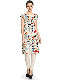 Vaamsi Crepe Digital Printed Kurti(VPK1203_Multi-Coloured_Free Size)
