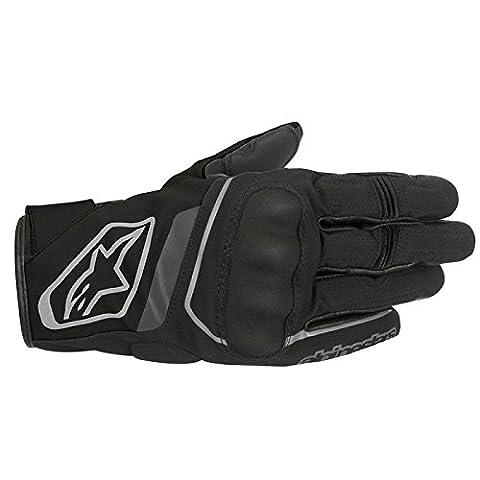 Alpinestars Syncro Drystar Waterproof Touchscreen Motorcycle Gloves - Black L