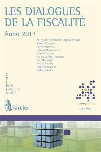 dialogues-de-la-fiscalite-anno-2012-chaire-pricewaterhousecoopers-droit-fiscal