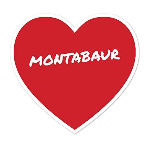 Preisvergleich Produktbild JOllify Aufkleber - MONTABAUR – Farbe: Design: Herz