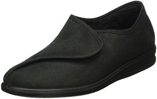 Romika Herren Präsident 85 W Pantoffeln Schwarz (schwarz 100)