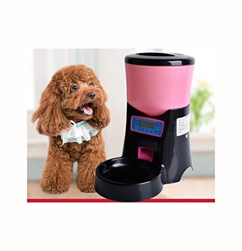 Mangiatoia per cani e gatti, mangiatoia per animali domestici capacità 4.5L, mangiatoia quantitativa regolare, alimentazione accurata può essere registrata, adatta per cani e gatti di piccola e medi