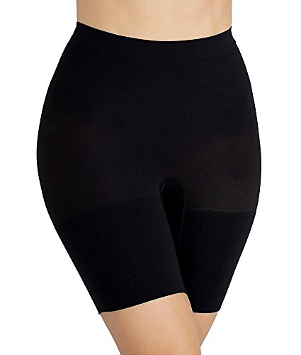 spanx-power-series-shaping-short-con-gamba-donna-very-black-medium