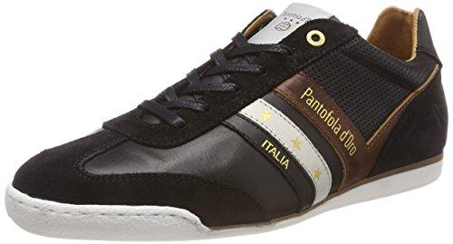 Pantofola d'Oro VASTO Uomo Low, Sneaker, Schwarz (Black .25y), 43 EU