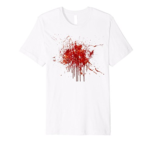 Blood Splatter TShirt Happy Halloween Kostüm - Gag Geschenk Tee
