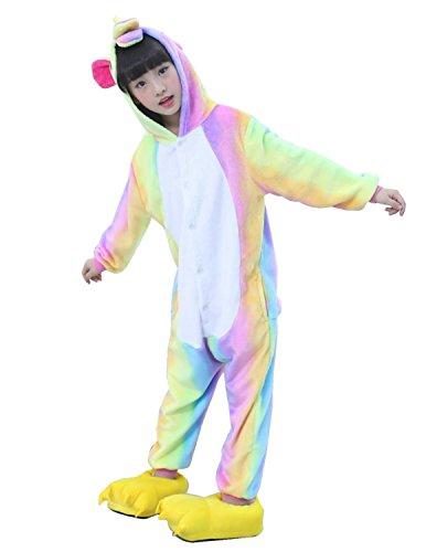 Semia Niño Unicornio Pijamas Niña Unisex Monos Ropa de Dormir Disfraz de Animal  Cosplay Traje. 7f22174ebb0d