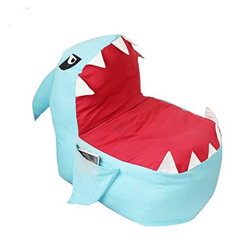 AnkamalElec Sitzsack - Stausack/Bean Bag für Stofftiere mit Abdeckung von Smith - Räumen Sie Räume auf und lassen Sie diese Kreaturen für sich arbeiten! (blau)