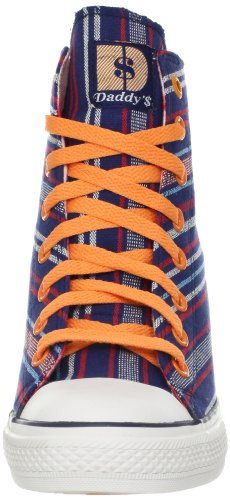Skechers Daddy '$ Money Gib mir Fashion Sneaker Navy/Orange ...