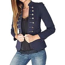 chaqueta neopreno mujer - Azul - Amazon.es