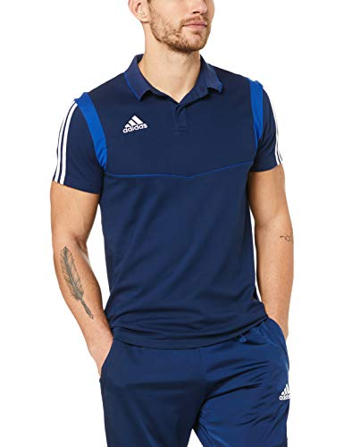 adidas Herren TIRO19 CO Polo Shirt, Dark Bold Blue, XL - Polo Blau Für Männer