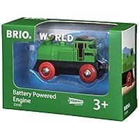Brio World - 33595 - LOCOMOTIVE A PILE BI DIRECTIONNELLE VERTE