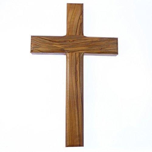 203cm-20cm-croix-en-bois-dolivier-veritable-mur-massif-christian-cadeau-sculptea-la-main