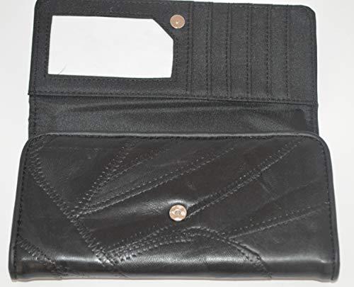 Porte-monnaie Trieur Euros Patch cuir