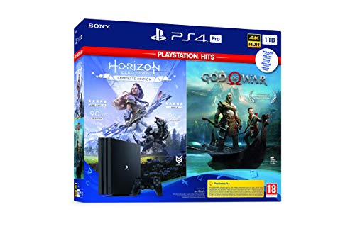 Sony PlayStation 4 - PS4 Pro 1TB + GOW + Horizon