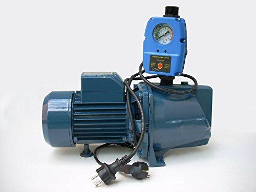 Wasserpumpe 1500 W 230V 4800 L/Std inkl. Steuerung Trockenlaufschutz Jetpumpe Gartenpumpe -