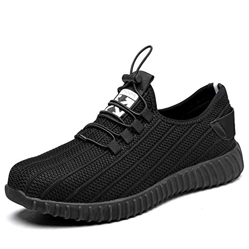 Lyoridra Arbeitsschuhe Herren Damen Leicht Sportlich Atmungsaktiv s3 Sicherheitsschuhe Sneaker Stahlkappe Schutzschuhe
