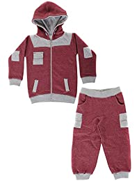 Paramount Contrast Cuff Shoulder Patch Babies Tracksuit