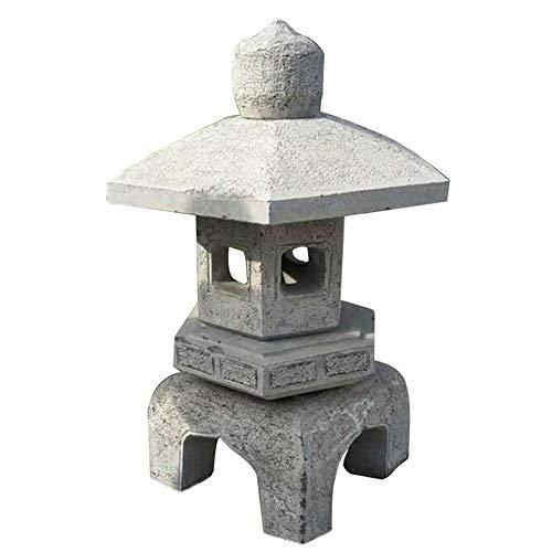 zenggp Pagode-asiatische Laternen-Garten-Dekor-Ausgangs-Skulptur Im Freien Große Stoon-Statue - Asiatische Pagode