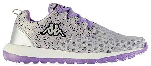 Kappa , Damen Sneaker Grey/Lt Violet