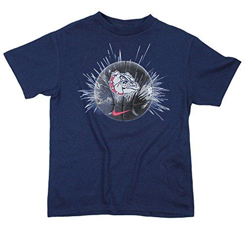 Nike NCAA Little Boys Kinder Gonzaga Bulldogs Graphic Tee, Marineblau, Jungen, navy (T-shirt Jungen Graphic Kleinkind)