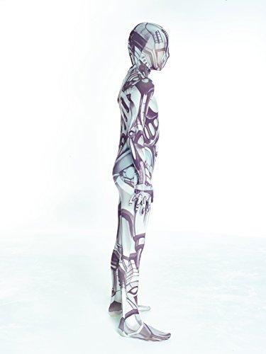 Imagen de morphsuits, disfraz infantil andriod, multicolor, 10  12 años/l alternativa