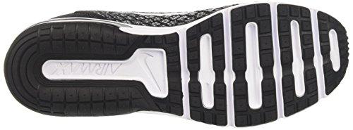 Nike Wmns Air Max Sequent 2, Scarpe Running Donna Nero (Black/white-dark Grey-wolf Grey)