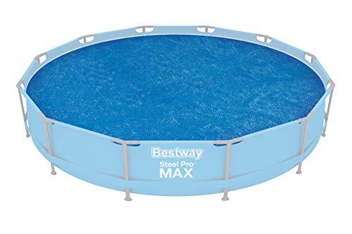 Bestway Flowclear Solarabdeckplane 366 cm-Pools, für 366 cm Fast Set Pool, Steel Pro Pool und Steel Pro MAX Pool