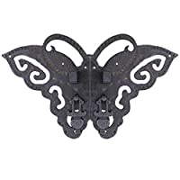 Cabinet face Plate,Creative Kitchen Cabinet Wardrobe Decorative Butterfly Hardware Drawer-C S