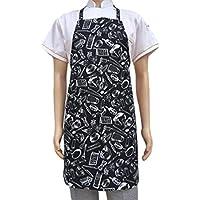 Baijiaye Cintura Delantal de Camarero Cocinar Bistro Delantales Corto para Hombres Mujeres Delantal Media Chef Panadero