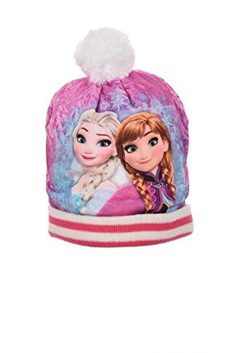 Cappellino frozen pon pon bambina (54 cm, panna)