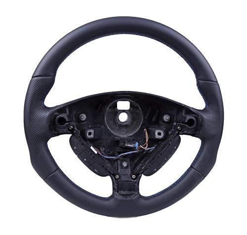 Autofun Extreme Volante con Piel Funda Apta para Opel Astra G