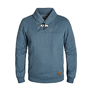 BLEND Aleko Men's Sweatshirt, size:M;colour:Ensign Blue (70260)