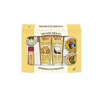 Las abejas de Burt Tips 'n' Toes Manos y Pies Gift Set